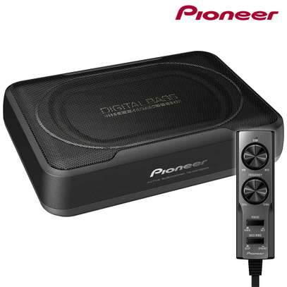 Pioneer ts-wx130da pioneer 8 compact powered subwoofer enclosure 160w max image 1