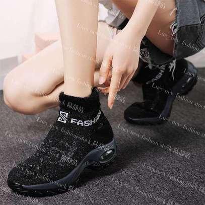 Ladies socks boot sneakers image 2