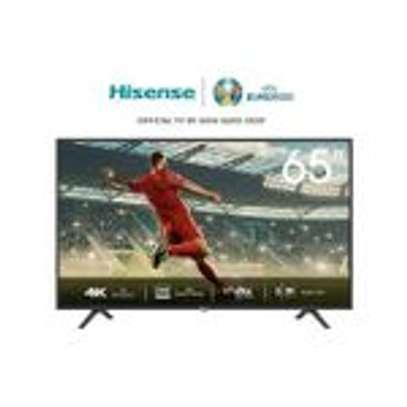 Hisense 65'' 4K ULTRA HD SMART TV, FRAMELESS-BLACK image 1