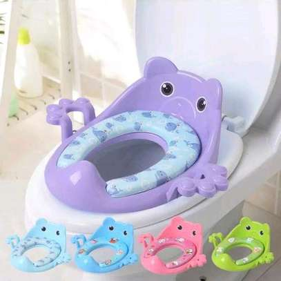 Kids Toilet Guard / Toilet Cushion-Fits All Toilet Seats image 1