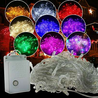Color Changing Christmas String Lights Outdoor Indoo image 1