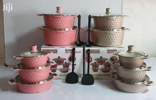 12 Pcs Cooksun Cookware Set image 1