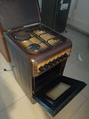 MIKA Standing Cooker 3+1 Electric Oven