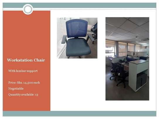 Workstation chair image 1