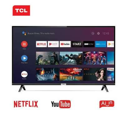 New 32 inches TCL Frameless Android Smart Digital TVs image 1