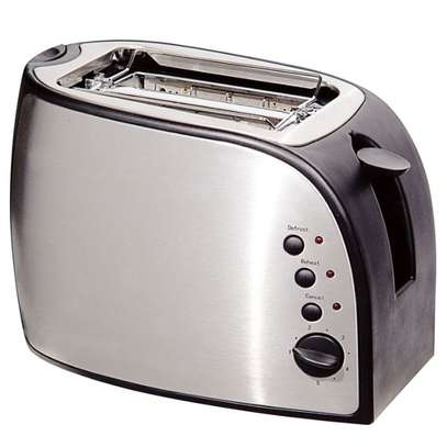 2 SLICE POP UP TOASTER STAINLESS STEEL- RM/258 image 1