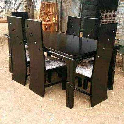 6 seater dining table set image 1