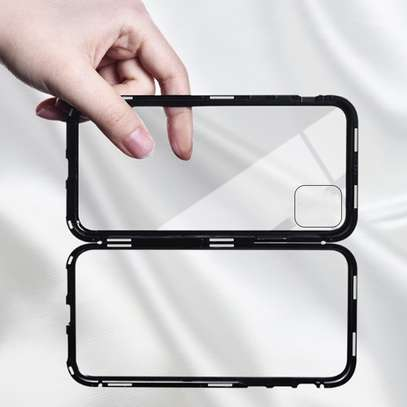 Magnetic Double-sided 360 Full Protection Glass Case for iPhone 11/11 Pro 11 Pro Max image 10