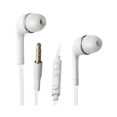 In-Ear Noise Isolating Earphones - White image 1