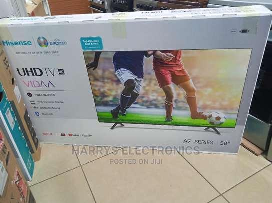 "Hisense 58"" 58A71KEN Smart 4k Frameless TV image 1"