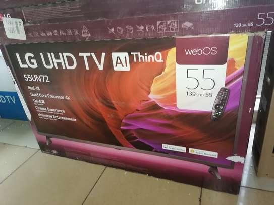 """55"""" LG smart 4k Webos UN72 tv image 1"""