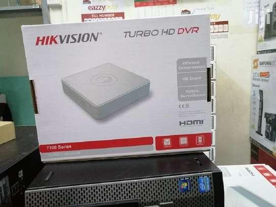 4 Channel Hikvision DVR Machine image 1