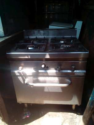 Gas cooker+gas oven
