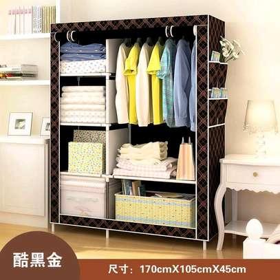 2 column portable wardrobe image 3