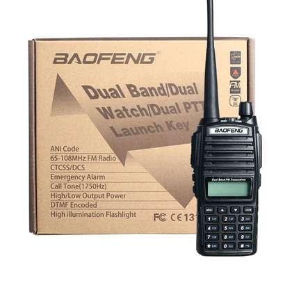 baofeng uv-82 5w walkie talkie dual band vhf/uhf two way radio double ptt portable radio amateur radio baofeng uv82+headset. 10KM image 2