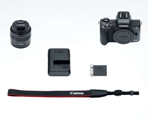 Canon EOS M50 Mirrorless Vlogging Camera Kit with EF-M 15-45mm lens image 8