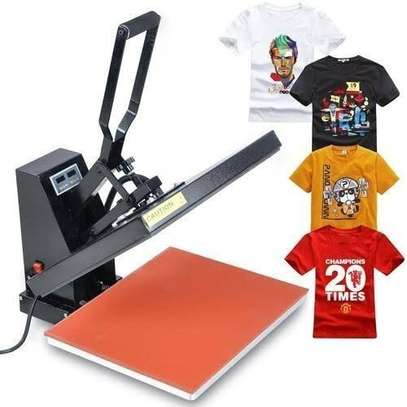 Thermal transfer-sublimation press 38x38 image 1