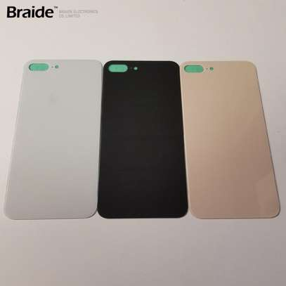 Battery Cover Replacement Back Door Housing Case For iPhone 8 8 Plus image 6