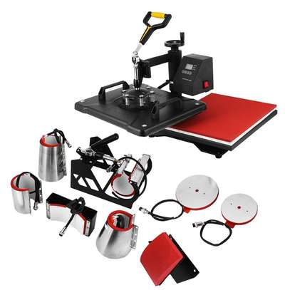8 in 1 Combo Heat Press Machine image 4