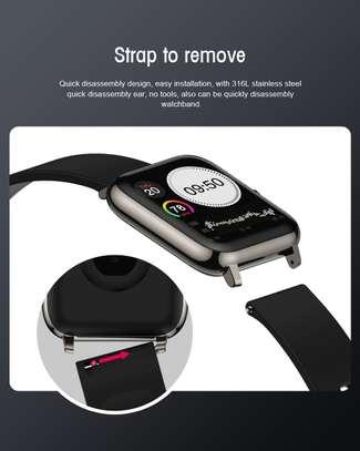 smart watch Year 2021 P22 Full Touch waterproof Smart Watch Band Blood Oxygen Monitoring Watch image 2