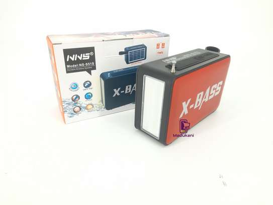 NNS NS-S51S XBASS Bluetooth FM Solar Pocket Radio image 3