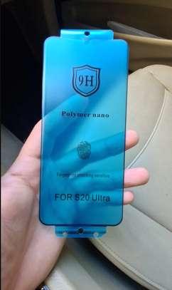 Ceramic 5D Glass Protector Flexible Anti-Break,Anti-Fingerprint for Samsung S20 S20+ S20 Ultra image 1