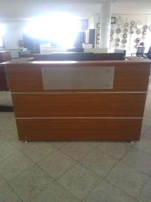 1.6 Metre Office Reception Desk image 1