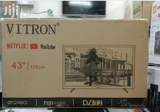 Vitron 43 Inch Digital Smart Full HD LED TV image 1