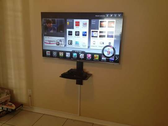 TV Mounting Service with On-wall Wire Concealment image 4
