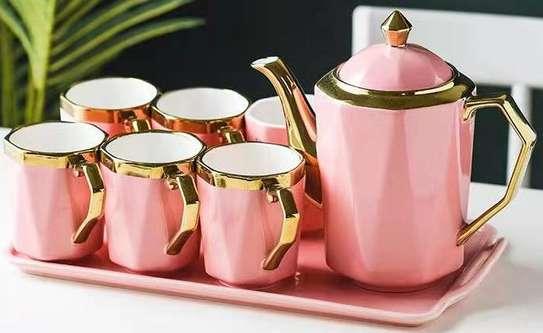 8 pcs tea set image 4