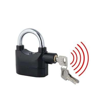 Padlock Alarm High Quality Alarm lock Siren Padlock for home % office security image 2