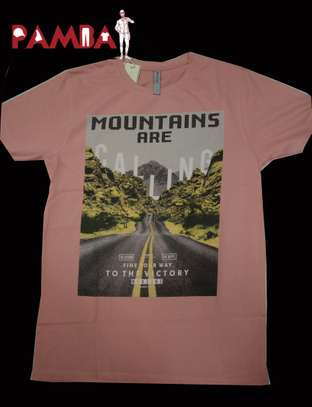 Mountains are Calling Round-neck T-shirt