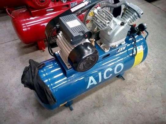 100l single phase air compressor. image 1