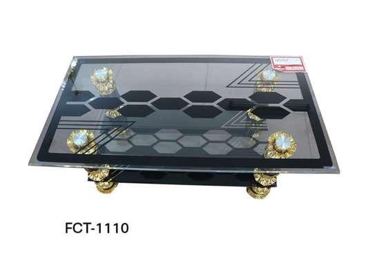 Glass-top Coffee Table image 3