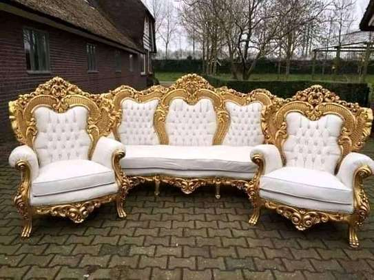 Golden frames Antique sofas (9-12 seaters) image 1