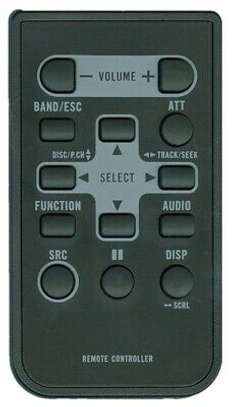 Pioneer Remote Control Car Stereo image 1