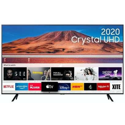 43 inch Samsung Smart Crystal UHD 4K Framess TV - Alexa, Bluetooth, Voice Command, HDR - UA43TU8000 image 1