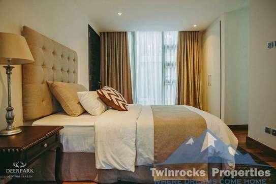 5 bedroom townhouse for rent in Karen image 1