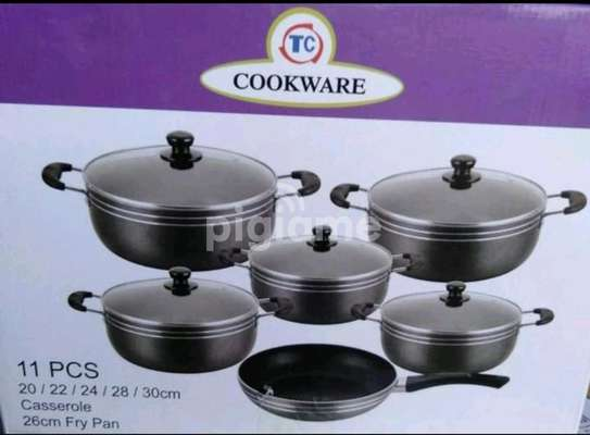 TC Classic Heavy Duty 14 Pieces Non Stick Cooking Pots And Pan image 2