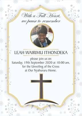 Funeral Program Printing. image 1