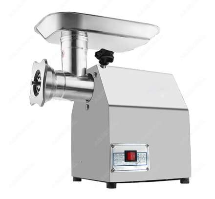 TK12 Stainless Steel Electric Meat Grinder Multifunctional Commercial Herb Garlic Meat Mincer Machine Heavy Duty Sausage Stuffer image 1