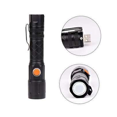 Powerful led camping metallic pocket torch image 2