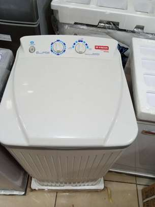 Fresh jumbo single tub 8kg wash and rinse  washing machine image 1