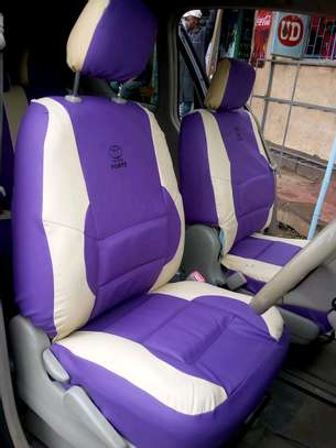 Well puffed car seat covers image 7