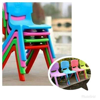 Kindergarten Plastic Chairs image 2