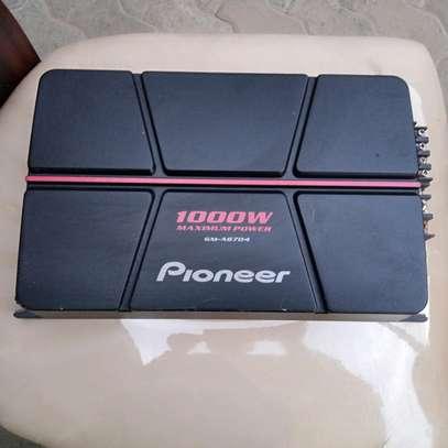 PIONEER AMPLIFIER 1000w GM-A6704 CHANNEL image 1