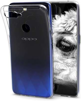 Clear TPU Soft Transparent case for Oppo F9 F9 Pro image 2