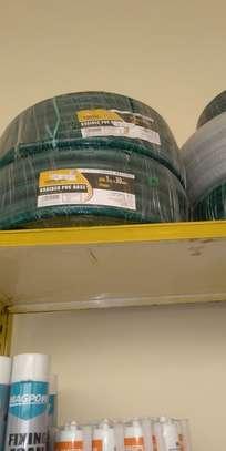GREEN BRAIDED PVC HOSE image 1