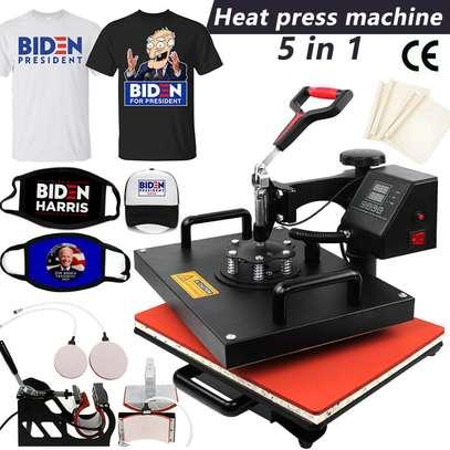 Digital Combo Heat Press Machine Sublimation T-shirt Printing image 2