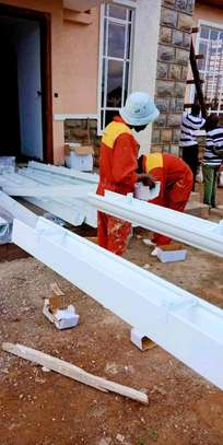 We're are experts supply and fix pvc gutters